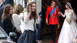 PRENS WILLIAM VE KATE MIDDLETON EVLİLİK YILDÖNÜMÜ