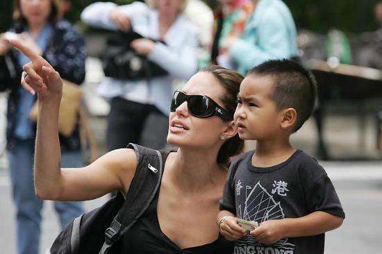 Angelina Julie-Brad Pitt çocukları
