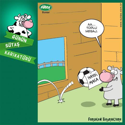Günün Sütaş karikatürü 1