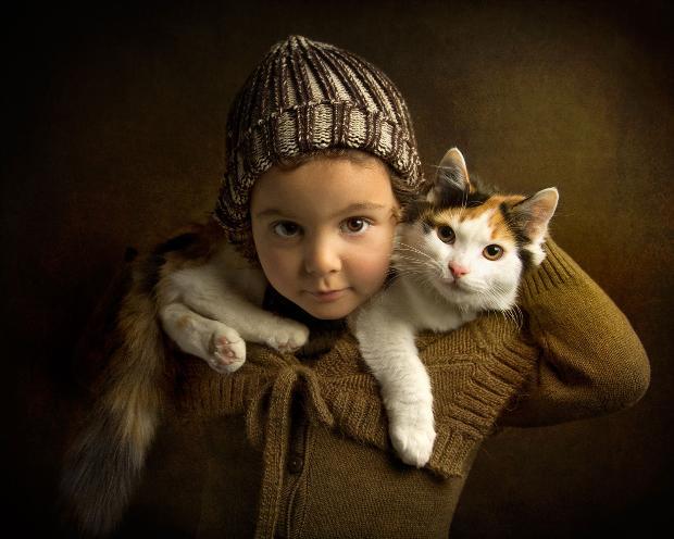 5 yaşındaki model Athena Gekas büyüledi