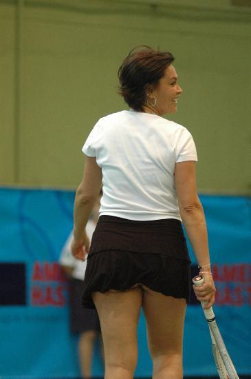 Hülya Avşar Tenis Maçı