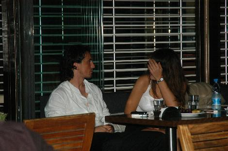 TUNCAY ŞANLI VE SEVGİLİSİ (HAZİRAN 2010)